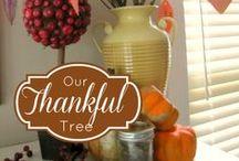 Thankful Tree {November}