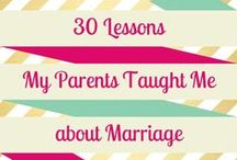 MARRIAGE: Inspiration / Marriage advice from couples new and old! Ways to keep your marriage happy and healthy. Marriage ideas, marriage inspiration, marriage advice, newlywed tips, and so much more!