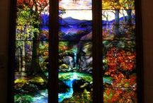 Stained Glass and Beveled Glass Beauty / by Teresa Turner