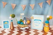 Baby Shower Party Ideas / Perfect ideas and tips on baby shower themes, decor, and more!