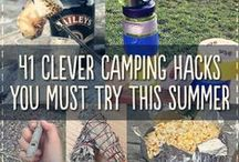 Camping ♥ / Storage ideas, food ideas, games, activities, etc