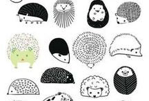 Craft&Drawing - Hedgehog