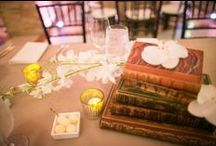 WEDDINGS: Books and Maps / Ideas for a book-themed wedding, or a reception in a history museum, or a travel event!