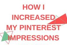 SOCIAL MEDIA: Pinterest / The best tips and tricks to improve your Pinterest account and grow your Pinterest followers