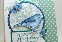 Best Birds - Stampin' Up! / UK Stampin' Up! Demonstrator - Teri Pocock | Paper Crafting | SU | Scrapbook Page | Scrapbooking | Card Making | Cards | Purchase Stampin' Up! supplies 24/7 from stampinmagic.com