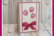 Tranquil Tulips - Stampin' Up! / UK Stampin' Up! Demonstrator - Teri Pocock | Paper Crafting | SU | Scrapbook Page | Scrapbooking | Card Making | Cards | Purchase Stampin' Up! supplies 24/7 from stampinmagic.com