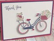 Bike Ride - Stampin' Up! / UK Stampin' Up! Demonstrator - Teri Pocock   Paper Crafting   SU   Scrapbook Page   Scrapbooking   Card Making   Cards   Purchase Stampin' Up! supplies 24/7 from stampinmagic.com