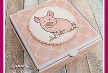 This Little Piggy - Stampin' Up! / UK Stampin' Up! Demonstrator - Teri Pocock | Paper Crafting | SU | Scrapbook Page | Scrapbooking | Card Making | Cards | Purchase Stampin' Up! supplies 24/7 from stampinmagic.com