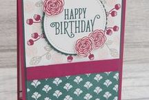 Happy Birthday Gorgeous - Stampin' Up! / UK Stampin' Up! Demonstrator - Teri Pocock | Paper Crafting | SU | Scrapbook Page | Scrapbooking | Card Making | Cards | Purchase Stampin' Up! supplies 24/7 from stampinmagic.com
