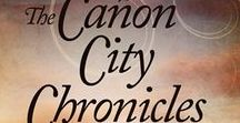 Western Romance - The Cañon City Chronicles / Books 1, 2 & 3 of a family trilogy. Three determined women meet men strong enough to share their dreams – a runaway preacher, a cattleman, and a Colorado Ranger. http://www.davalynnspencer.com