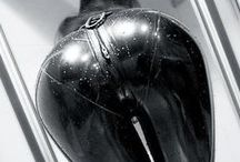 Latex Buttoms / by Lust, Love & Latex