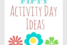 LDS Activities Day / ideas for activity day girls (ages 8-12) / by Sherri Vincent