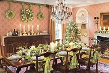 Christmas tablescape / by Jimi Mirsberger