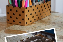 Craft Room Organization / by Craftwell Inc.