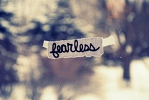 Fearless / I chose OneWord for the year of 2012 - Fearless. It's been a helluva choice.