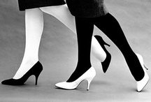 Shoes - HH (Black&White) / by Diane Gervais