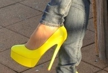 Shoes - HH (Yellowish) / by Diane Gervais
