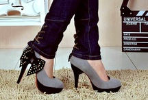 Shoes - HH (Grey) / by Diane Gervais