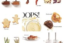 """OOPS: How to fix AND food tutorials & Tips / How to tutorials, tips and how to fix the """"oops"""" in the kitchen."""