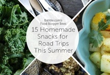 Road Trip Travel Snacks / Snack to keep kids entertained while traveling