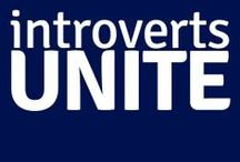 Introverts Unite! Individually!  / INFJ here.  I'd tell you that I was proud to be that, but it would be giving away too much.   / by Kristi Gregory