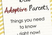 Caring for an Adopted Child / Tips and information for adoptive parents on basic care, health, and learning activities for a newborn or toddler. Not a board on the adoption process but how to care for your new child.  Primarily for first-time adoptive parents.