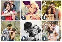 Engagement Photo Poses / Pose suggestions for engagement portraits, curated by Alpharetta Photography, LLC.  Engaged in Atlanta?  Book your engagement session today: 678-995-5503.