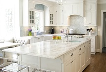 Kitchen of your Dreams! / My 2013 kitchen gut renovation was planned on Pinterest. I hope others can use the ideas I saved.  / by Lisa Martin