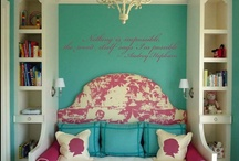 Teen Girls Room / My daughters room.  / by Lisa Martin