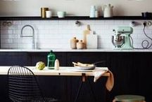 Dream Kitchens / Swoon-worthy kitchen spaces.