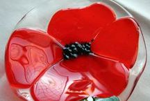Poppies! / by Delphi Glass