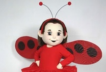 Ladybug Girl / Ideas for themed events using the Ladybug Girl promotional costume. Celebrating Ladybug Girl and educators.