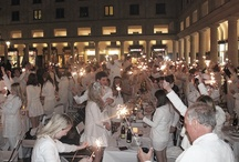 Secret Supper | Diner En Blanc (@DinerEnBlancLON)  Thurs, Sept 20th, 2012 - Covent Garden / Dîner en Blanc annually assembles nearly 15,000 attendees worldwide with the very first Diner en Blanc London hosted in Covent Garden 20th September this year.