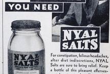 Vintage Medicine  / Vintage medications and medical equipment