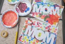 Mother's Day Ideas / Honor the mothers in your life with these sweet cards, crafts and images all about enjoying mom.