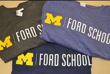 Spirit Store / The next time you are in Ann Arbor, stop by the Spirit Store and purchase your own Ford School swag. The Spirit Store is in 2110 Weill Hall (735 S. State Street, Ann Arbor, MI 48109), we're open M-F from 8:30-5:00 p.m.
