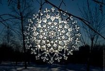 Snowflakes / No two alike...the winter icon. / by Delphi Glass