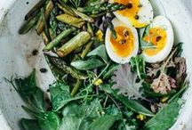 Salad / Year-round salad inspiration. Who said salad needed to be a bed of leaves with just dressing?