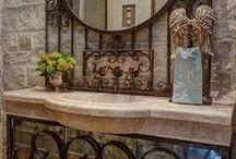Bath / Bath Ideas, Bathroom, Remodel, Master Bath, Guest Bath, Tile, Walls, Tub, Vanity, Sink, Countertop, Paint, Medicine Cabinet