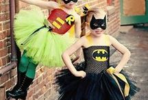 Superhero Disguise / They not only want EntertainArt decor, they want to dress up like their favorite superheroes too!