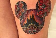 Disney Tattoos / A true Disney fan loves to show their Disney pride through their attire, household items, jewelry, and more. For the die-hard Disney fans, they permanently mark themselves with the childhood memories that continue to inspire them and thrive with them in their everyday lives. Here's some of our favorite Disney tattoos, EntertainArt approved!