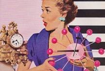Clocks / www.retrogoddesses.com / by retrogoddesses.com