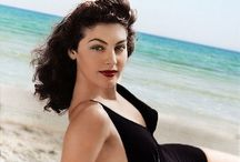 Ava Gardner / Ava Lavinia Gardner was an American actress. She was signed to a contract by MGM Studios in 1941 and appeared mainly in small roles until she drew attention with her performance in The Killers. / by Rachel @ Retrogoddess