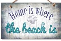 Everything's Just Beachy! Coastal Inspired Living / Sand, Sun, Salt, Surf, Serenity. / by ♥ Debby Johnson   دبي جوهنسون