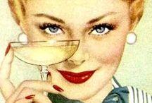 Vintage Drinks / retrogoddesses.com / by retrogoddesses.com