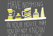 Honey I'm Home! / For the Suzie Homemaker in all of us / by ♥ Debby Johnson   دبي جوهنسون
