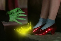 """Ruby Red Slippers / """"Cinderella is proof that on pair of shoes can change your life"""" / by ♥ Debby Johnson   دبي جوهنسون"""