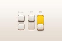 Interfaces elements  / by Alena Shirokova