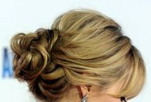 :::MeSSy BunS & BraidS::: / messy buns and pin ups that ii wanna try next year!!  / by ღKita Bღ