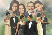 "ii luv The Obamas☼☼ / Barack Obama is a man of integrity, loyalty, honesty & passion for the United States of America. Michelle is a phenomenal wife, mom & strong woman. Sasha & Malia imitate her in character & humility. This election was not about race, politics or money. Its about restoring our country & giving every U.S citizen equal rights, healthcare, jobs & access to the ""american dream"" regardless of race, lifestyle or background. I am so proud of the Obama family. So lets get ""Fired up, ready to go!!!"" :-) / by ღKita Bღ"